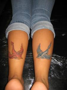 Swallow tattoo -Bird Tattoos