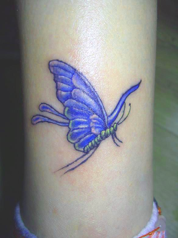 Small Art Tattoo Designs: Butterfly Tattoo Designs And Butterfly Tattoo Pictures