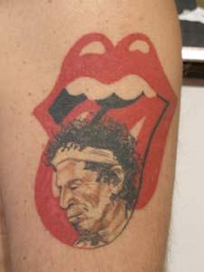 band rolling stones tattoo tattoos terhadap pujaan kegilaan part filed under saaks adam designer
