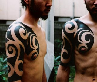 Tatto on Japanese Tribal Tattoos   Tattoo Art Gallery
