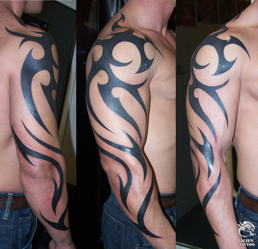 tribal arm tattoos for men and women tattoo art gallery. Black Bedroom Furniture Sets. Home Design Ideas
