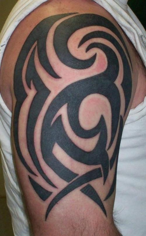 tribal arm tattoos | tattoo art gallery