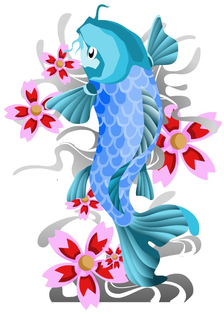 Koi fish tattoos tattoo art gallery for Koi fish designs