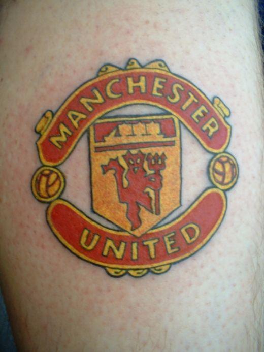 Football tattoo symbol premier league club tattoo art for Tattoo art club