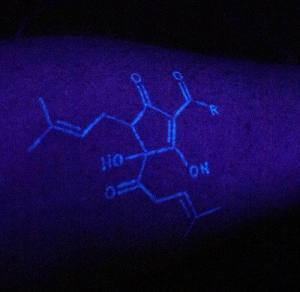 Black Light Tattoos