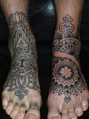foot tattoos for men tattoo art gallery. Black Bedroom Furniture Sets. Home Design Ideas