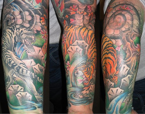 Forearm sleeve tattoos tattoo art gallery for Forearm tattoo sleeves