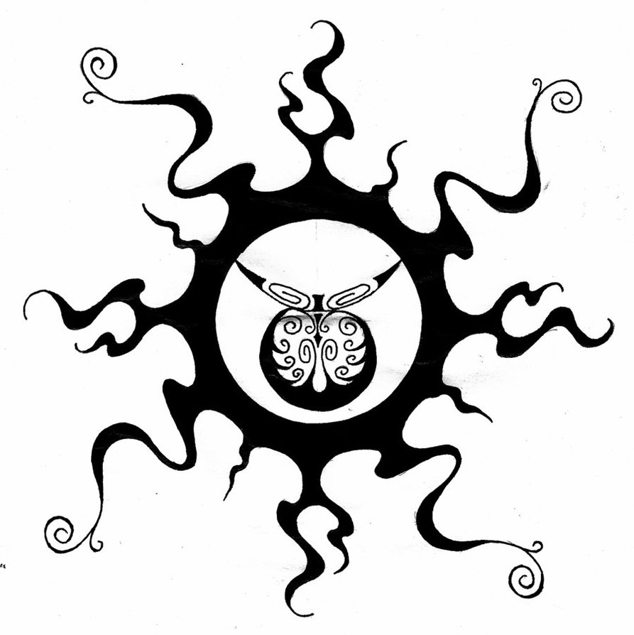 Tribal Sun Tattoos – Feel Confident Wearing Your Unique ...