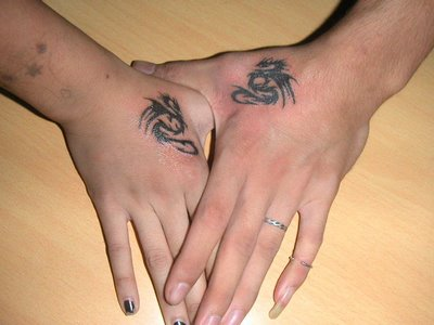 Tribal Hand Tattoos